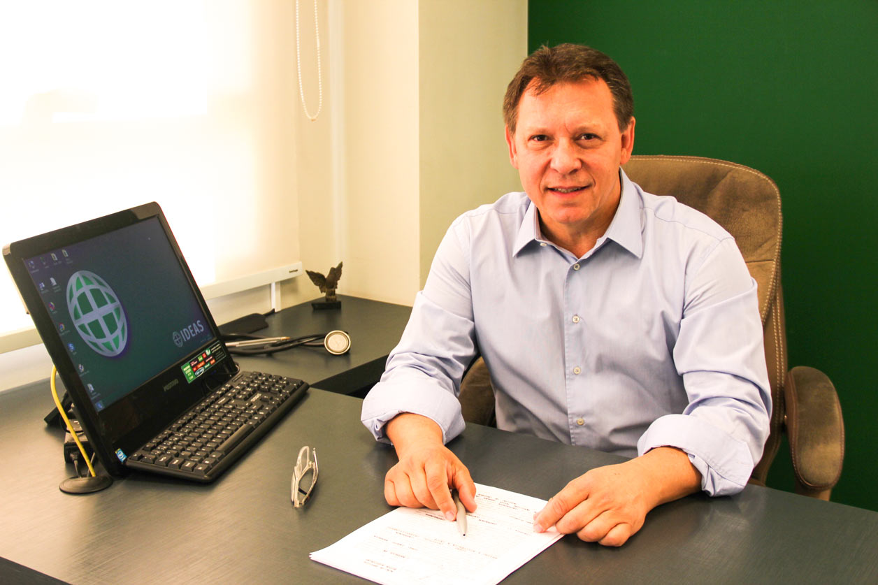 Dr Roberto Benedetti - Presidente do IDEAS